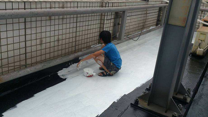 冬季防水施工